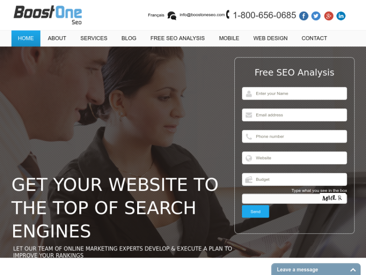 BOOST ONE SEO