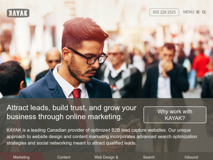 Kayak Online Marketing