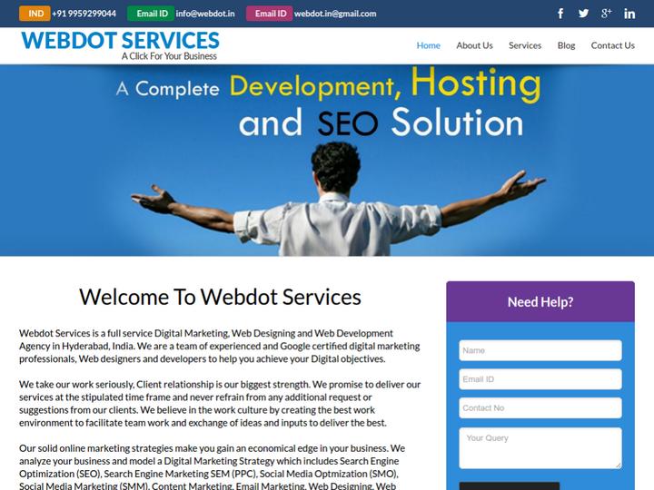 Webdot Services