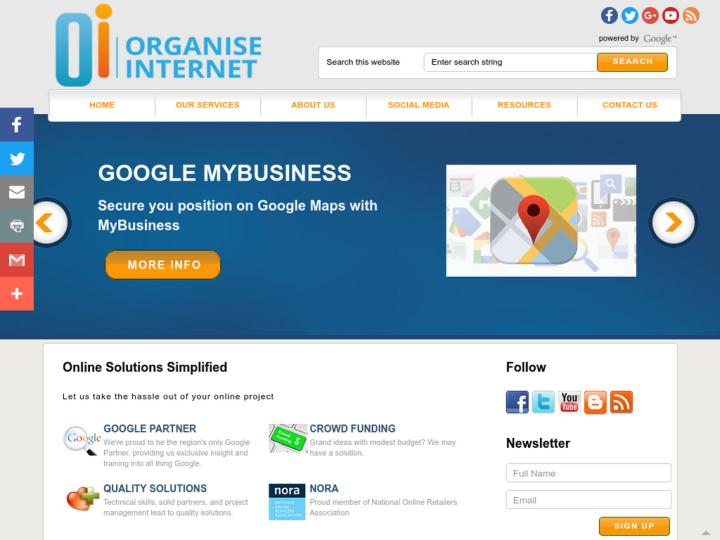 Organise Internet
