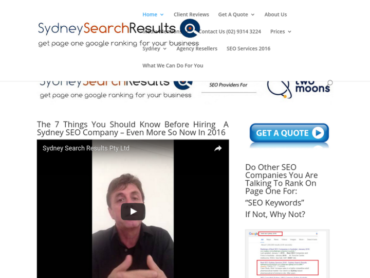 Sydney Search Results