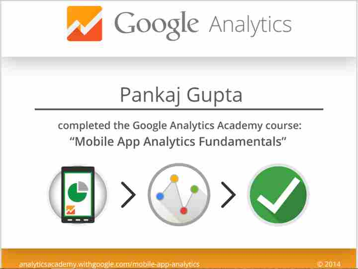 Google Analytics - Mobile App Analytics Fundamentals