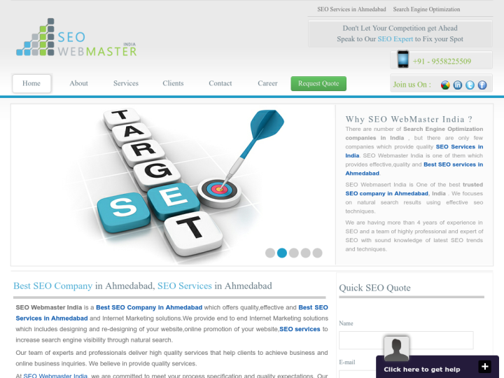 SEO Webmaster India