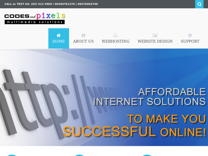 Codes and Pixels Multimedia Solutions