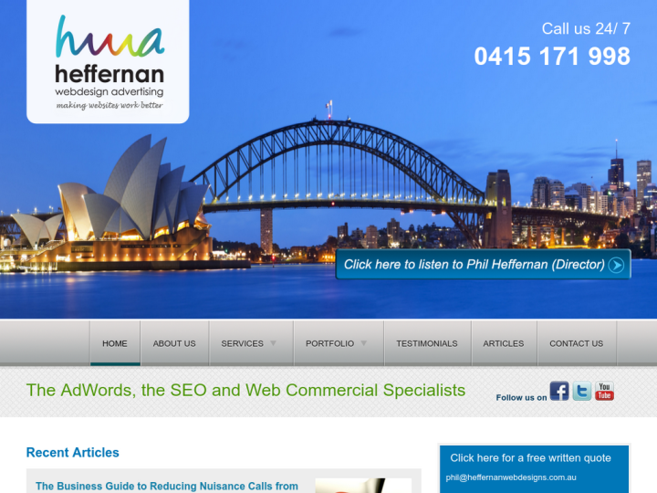 Heffernan Webdesigns