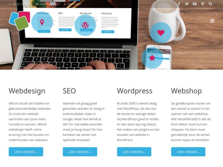 D Work Webdesign