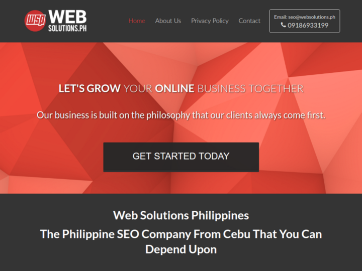 Web Solutions PH SEO & Web Design Company
