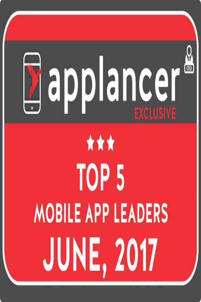 TOP 5 MOBILE APP DEVELOPMENT LEADERS BY APPLANCER
