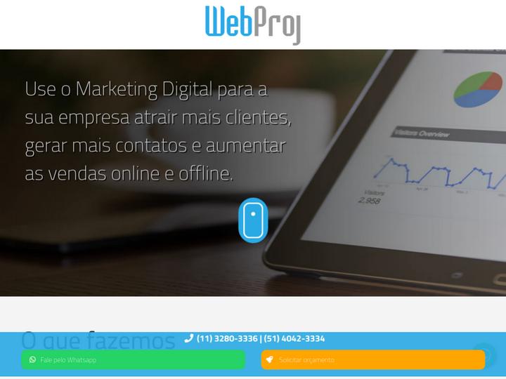 Webproj Agência de Marketing Digital