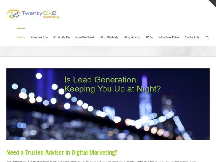 TwentySix2 Marketing