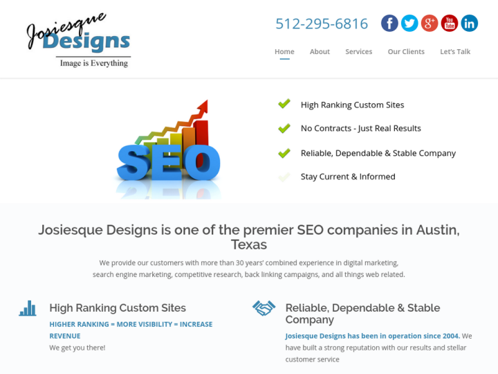 Search engine optimization in Austin