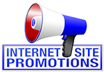 Internet Site Promotions