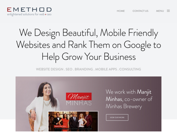 EMethod Calgary Web Design