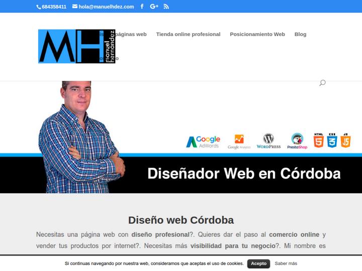 Diseño Web Manuel Hdez