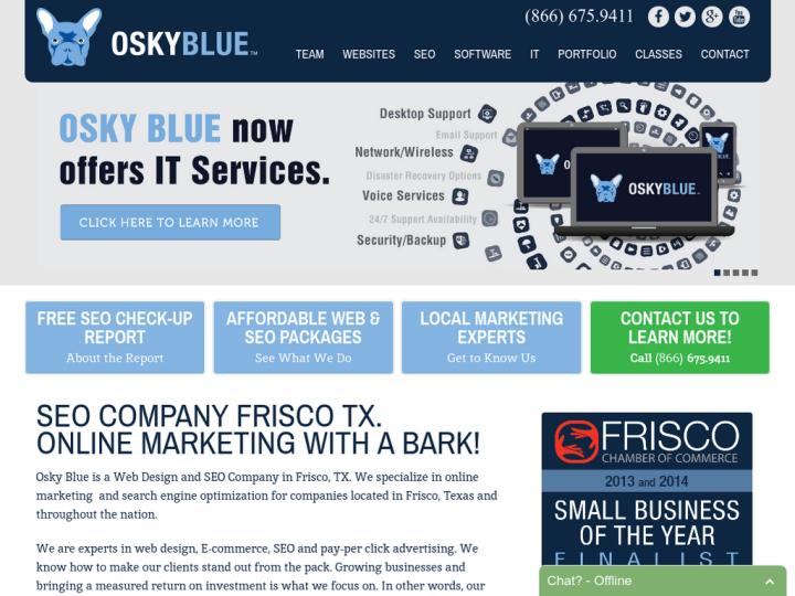 Osky Blue