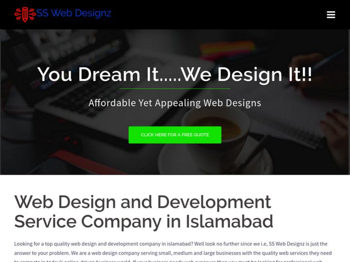 SS Web  Designz