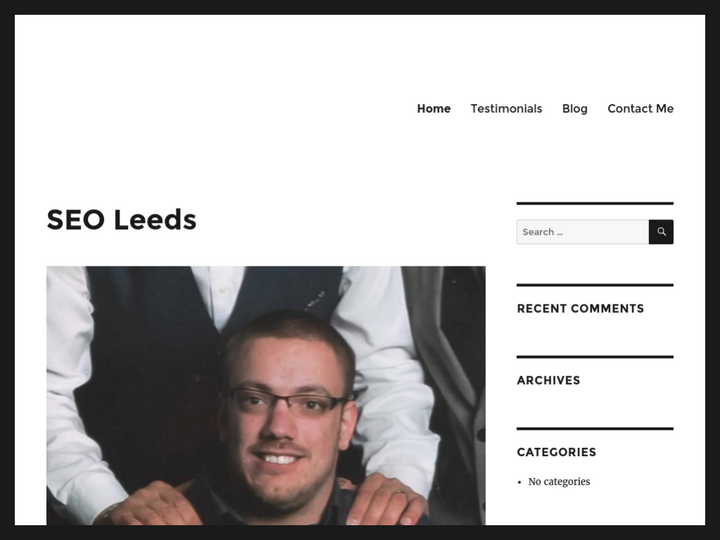 Sean Greenwood UK Wide SEO Consultant