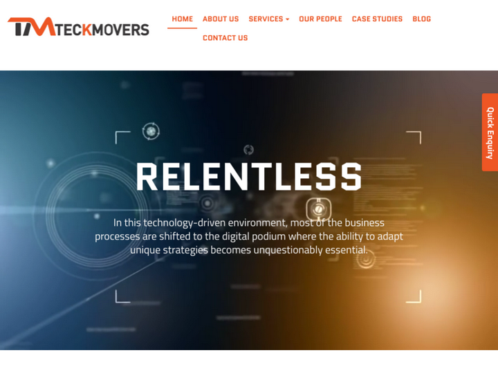 Teckmovers solution private limited