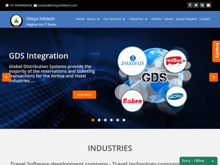 Orisys Infotech Pvt Ltd.
