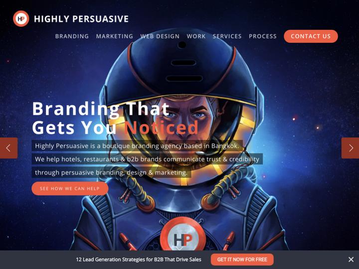 Highly Persuasive Branding & Design Agency Bangkok