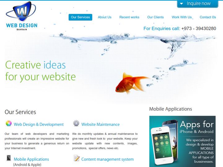 WebDesign Bahrain