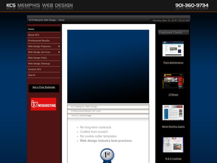 KCS Memphis Web Design