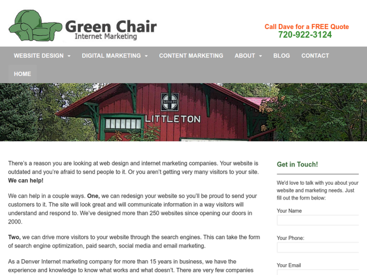 Green Chair Internet Marketing