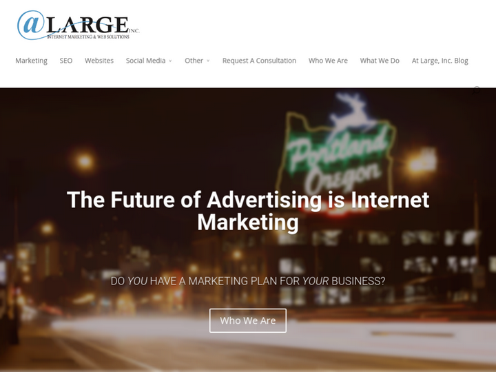 Large Internet Marketing