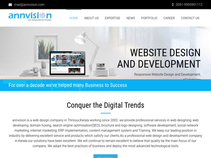 Annvision web Solutions