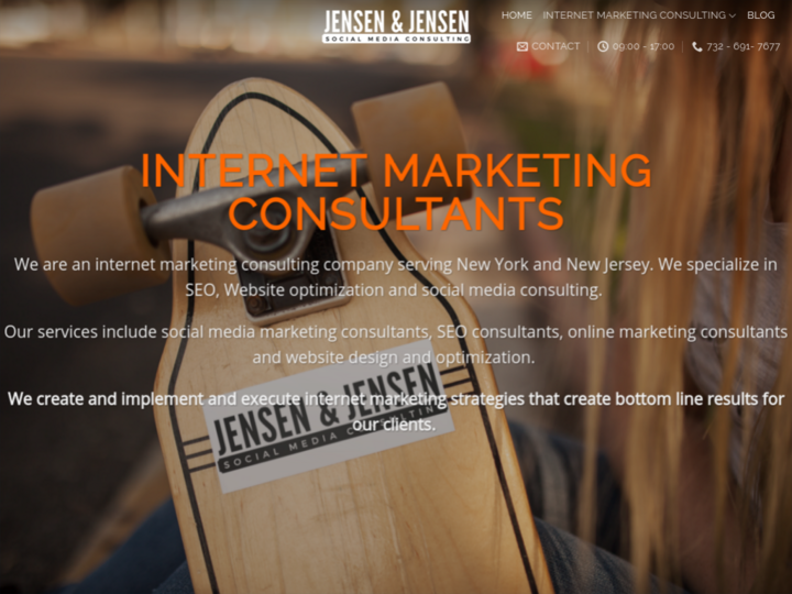 Jensen & Jensen Internet Marketing Consulting