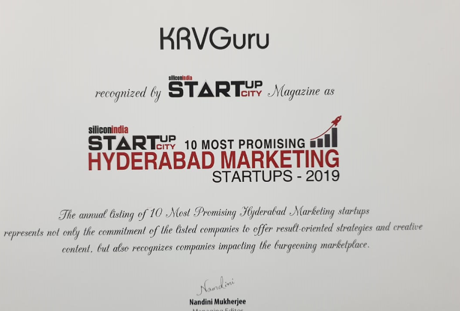 Top 10 Most Promising Marketing Startup of Hyderabad
