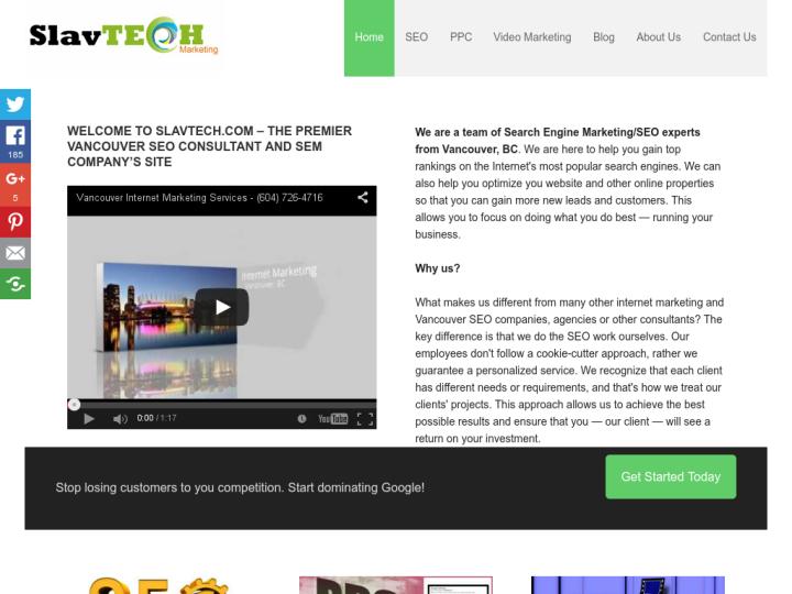 Slavtech Marketing Inc