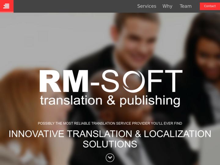 RM-Soft Translation & Publishing