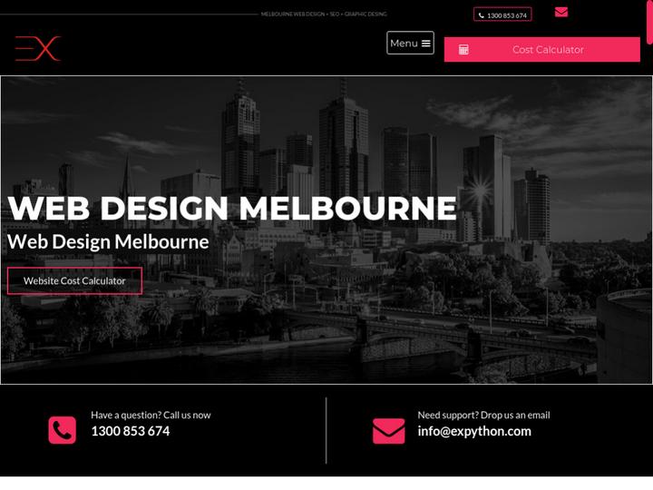 exPYTHON | Web Design Melbourne
