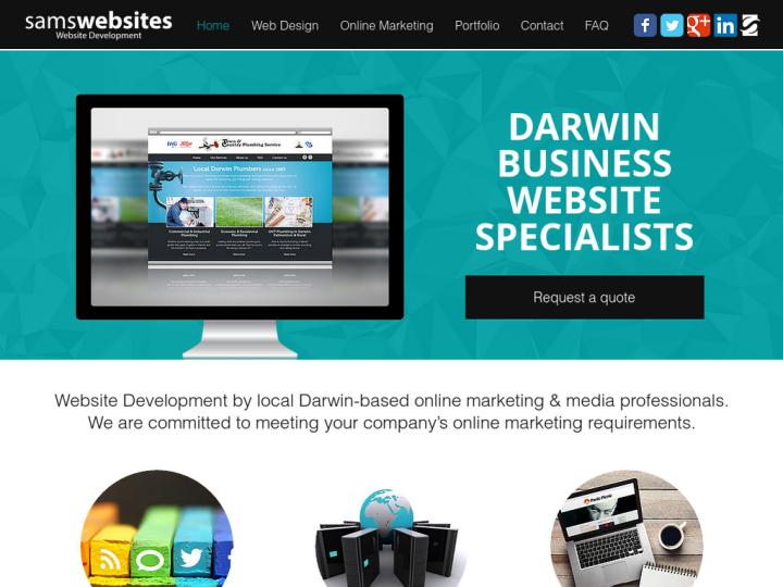 Sam's Websites Darwin