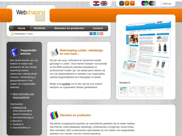 Webshaping