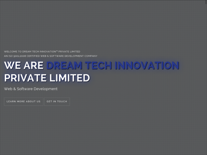 Dream Tech Innovation Pvt. Ltd.