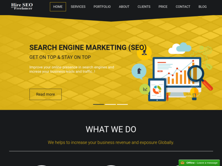 Hire SEO Freelancer