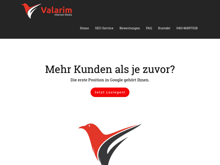 Valarim SEO Agentur Hamburg