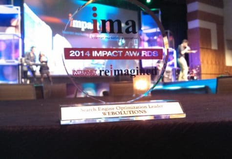IMA SEO Leader Award
