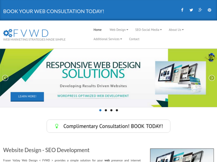 Fraser Valley Web Design