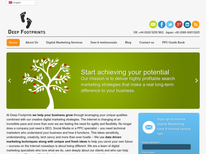 Deep Footprints Online Marketing Ltd