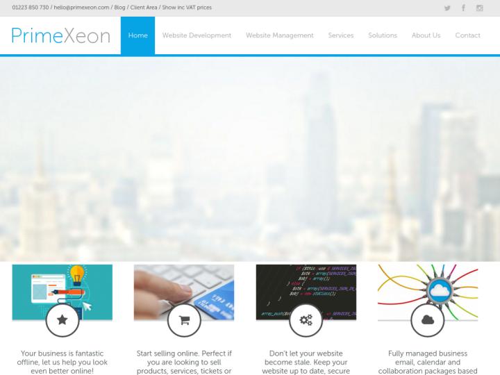 PrimeXeon Limited