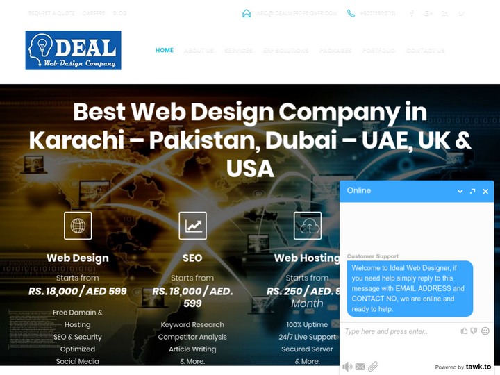 Ideal Web Designer