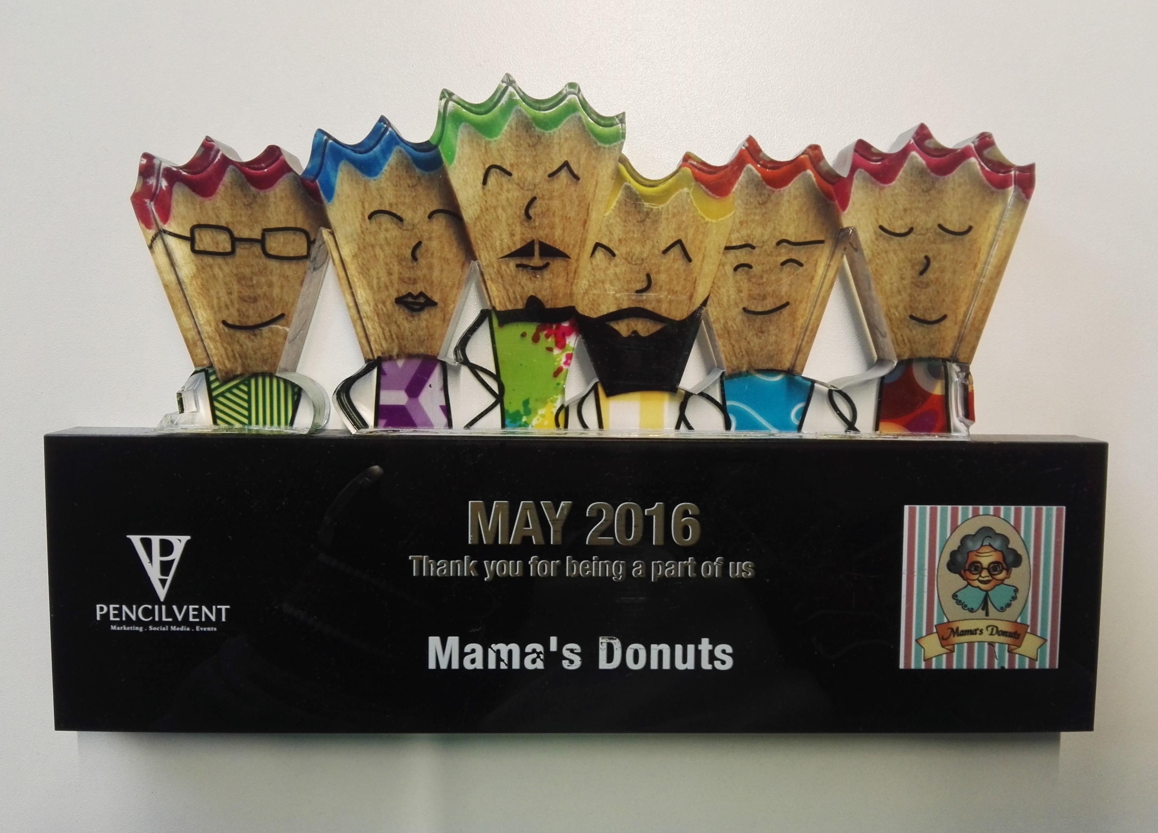 Mama's Donuts Award