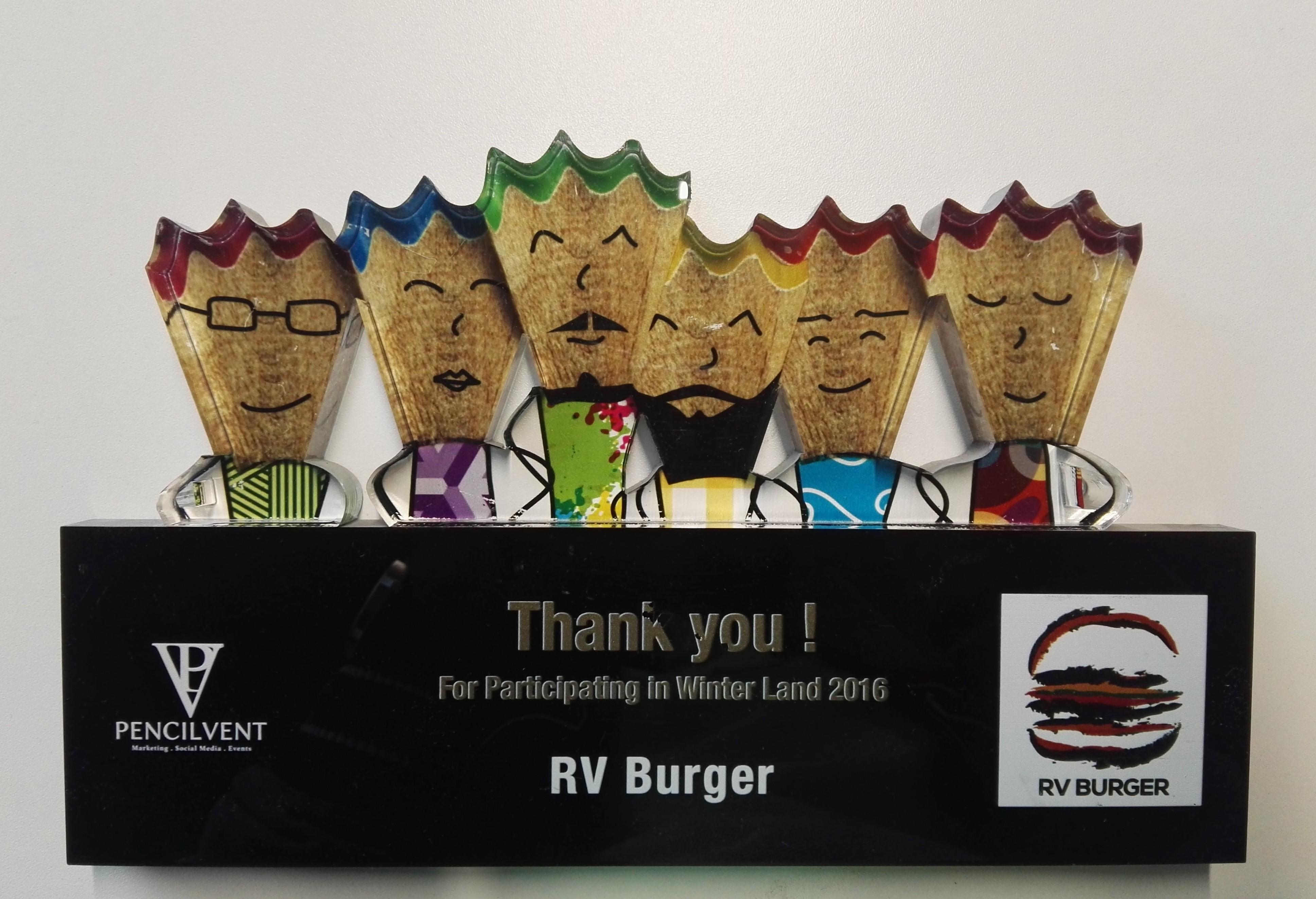 RV Burger Award