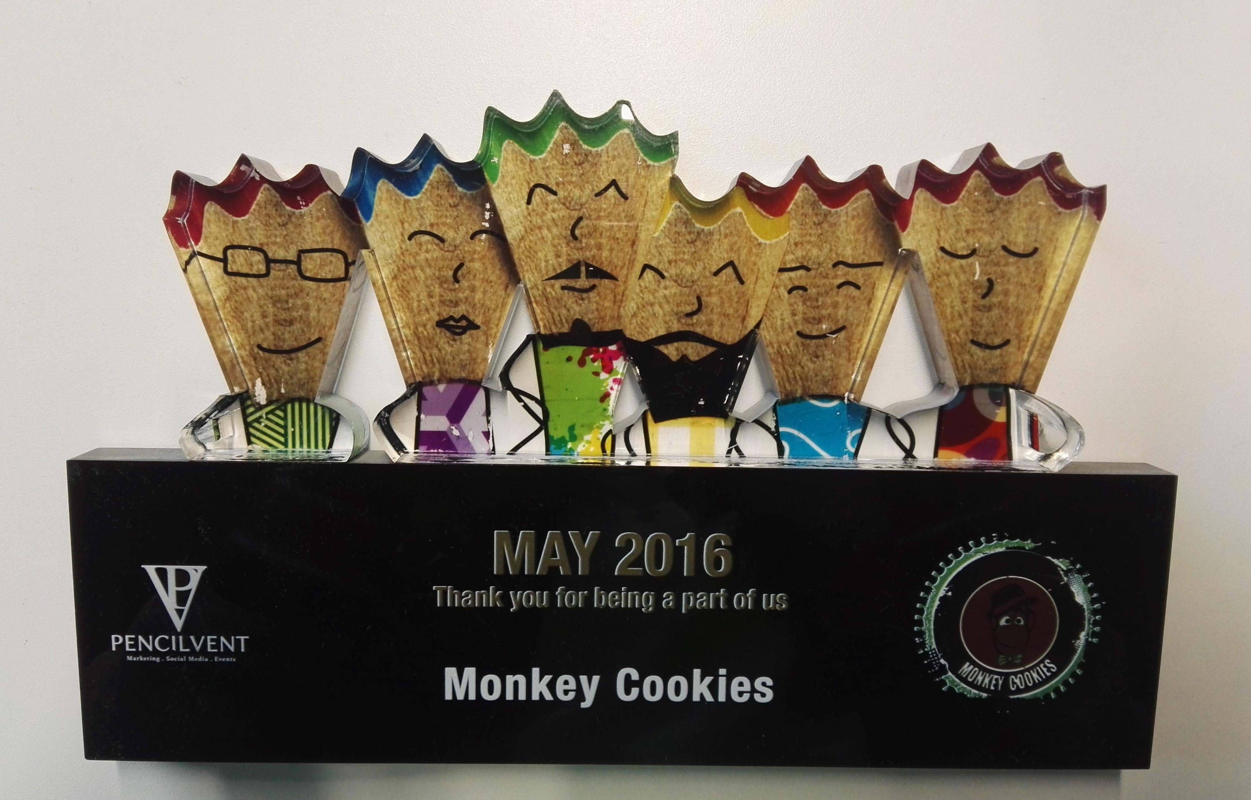 Monkey Cookies Award