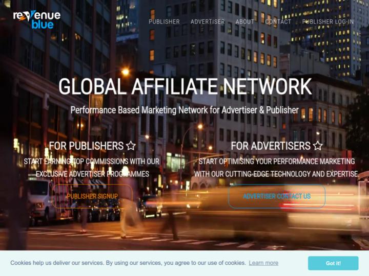 Revenue Blue Affiliagte Network