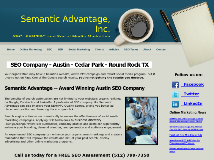 Semantic Advantage, Inc.