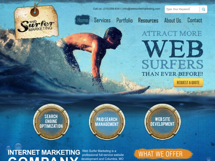Web Surfer Marketing